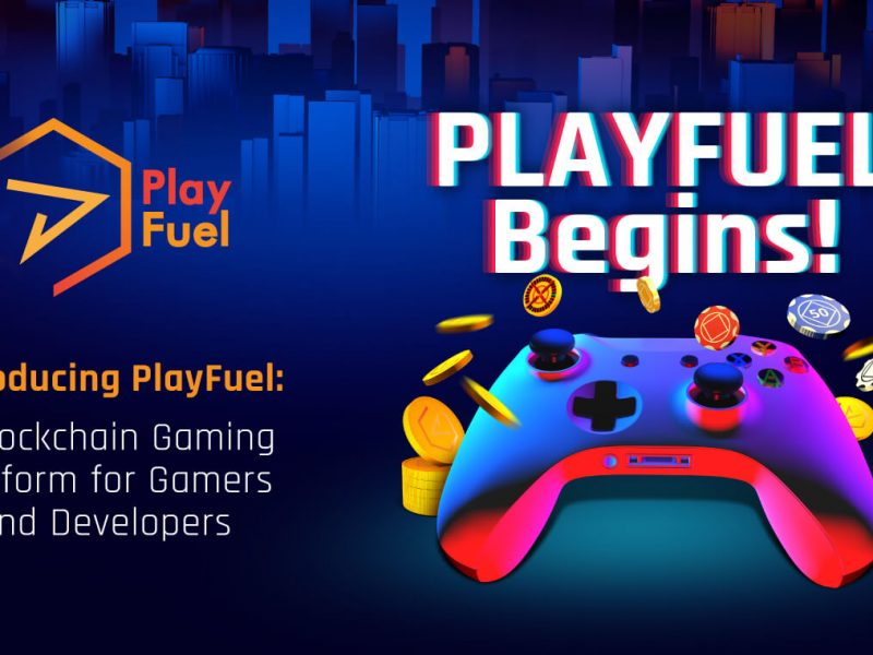 Playfuel Begins Blockchain Gaming Platform