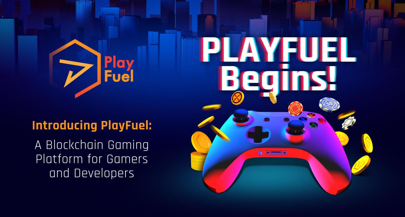 Playfuel Begins Blockchain Gaming Platform