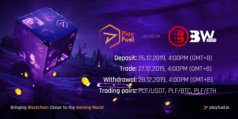 PlayFuel listing on BW.com