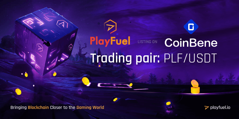 PlayFuel listing on Coinbene exchange