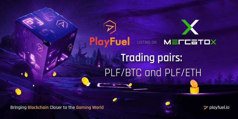 PlayFuel listing on Mercatox