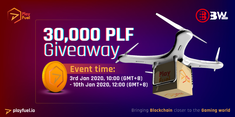 30,000 PLF Giveaway from BW.com