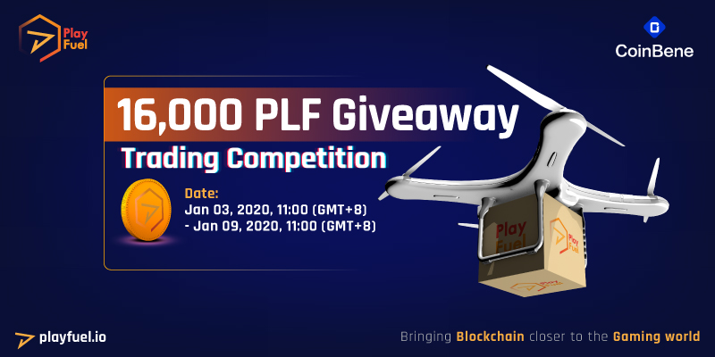16,000 PLF Giveaway From Coinbene!